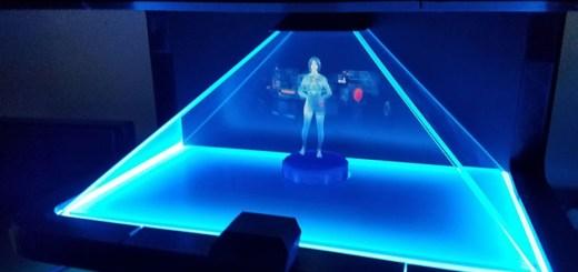Convierte a Cortana en un asistente Hológrafico