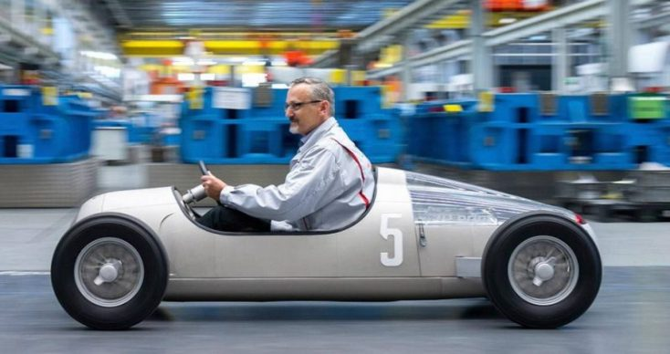 Réplica de Audi Tipo C