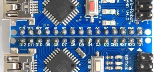 arduino nano pinout y caracteristicas