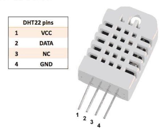 DHT 22 Sensor - Electrogeek