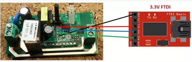 conexión de un módulo FTDI - Sonoff, Qué es y cómo configurarlo para el IOT