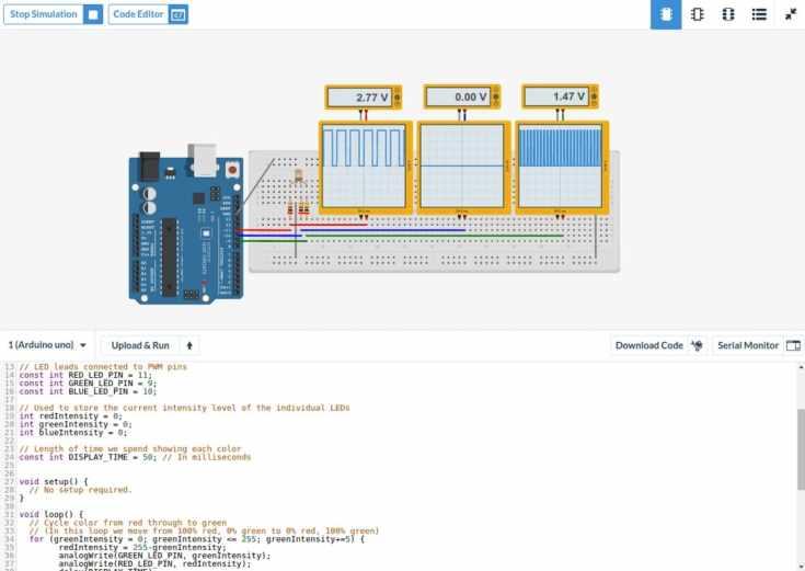 123 circuits con Arduino