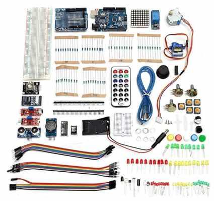 Ultimate UNOR3 Starter con Los Kits De Relé De Servomotor De Paso para Arduino