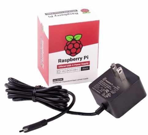 el nuevo cargador de la Raspberry Pi 4