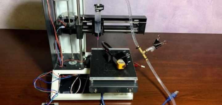 impresora 3d de sobremesa