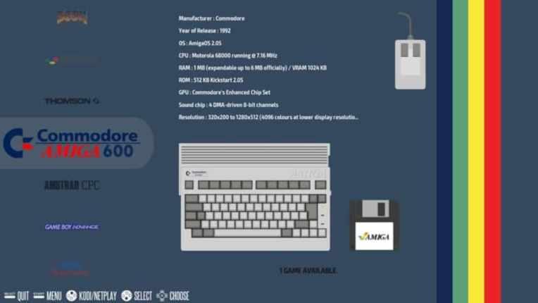menú principal recalbox - Recalbox, guía de este emulador de juegos de la Raspberry Pi