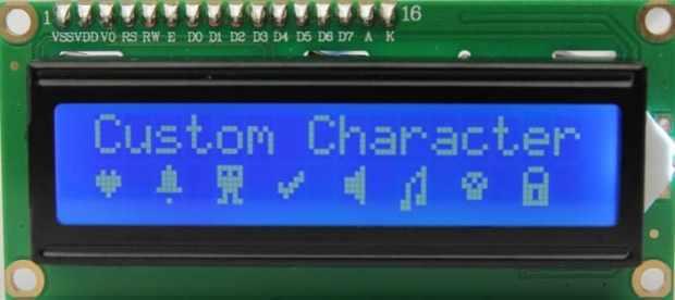 caracteres especiales pantalla LCD - Cómo usar un LCD de 16×2 caracteres con Arduino