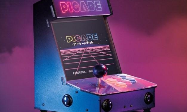 Picade, maquinita arcade basada en Raspberry Pi