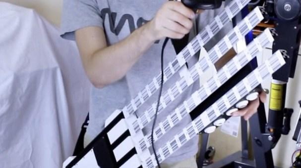 guitarra MIDI arduino