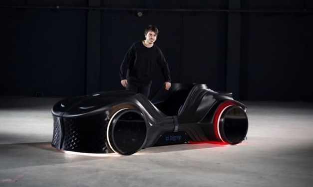 BigRep 3D imprime el coche eléctrico autónomo Loci