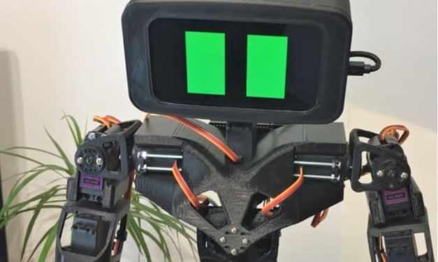 Aster, un robot humanoide impreso en 3D y de código abierto
