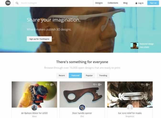 youmagine - Las mejores alternativas a Thingserve para impresión en 3D