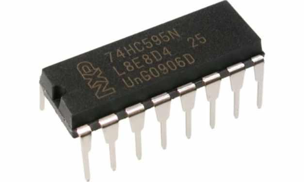 Cómo funciona el registro de turnos 74HC595 y su interfaz con Arduino