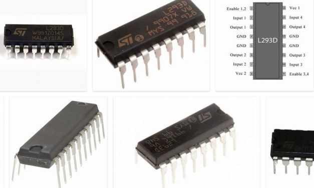 Controla los motores de corriente continua con el motor L293D IC y Arduino
