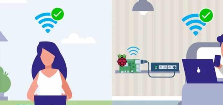 conexiones a raspberry Pi por wifi 1