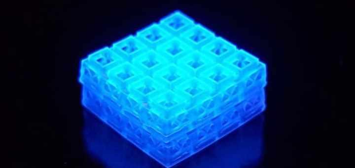 cubos del lego impresos en 3D