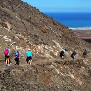 Rutas a pie por Fuerteventura