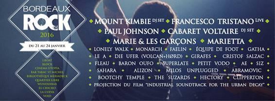 Descubre Festival Bordeaux Rock