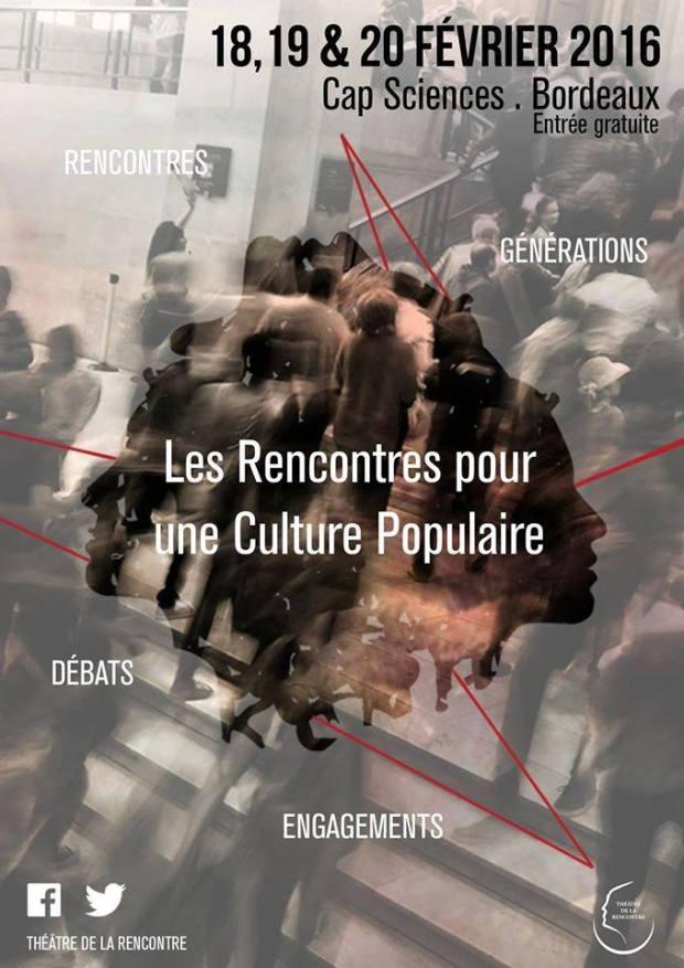 Descubre Tres días de Cultura Popular en Burdeos