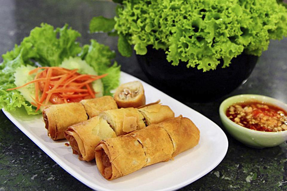 Rollitos Thai