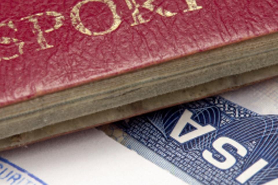 Pasaporte - Visado