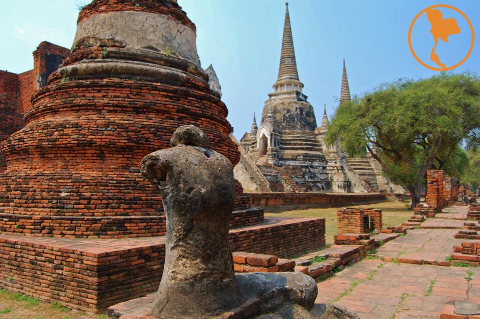 Wat PhraSiSanphet - Ayutthaya - Descubre Tailandia