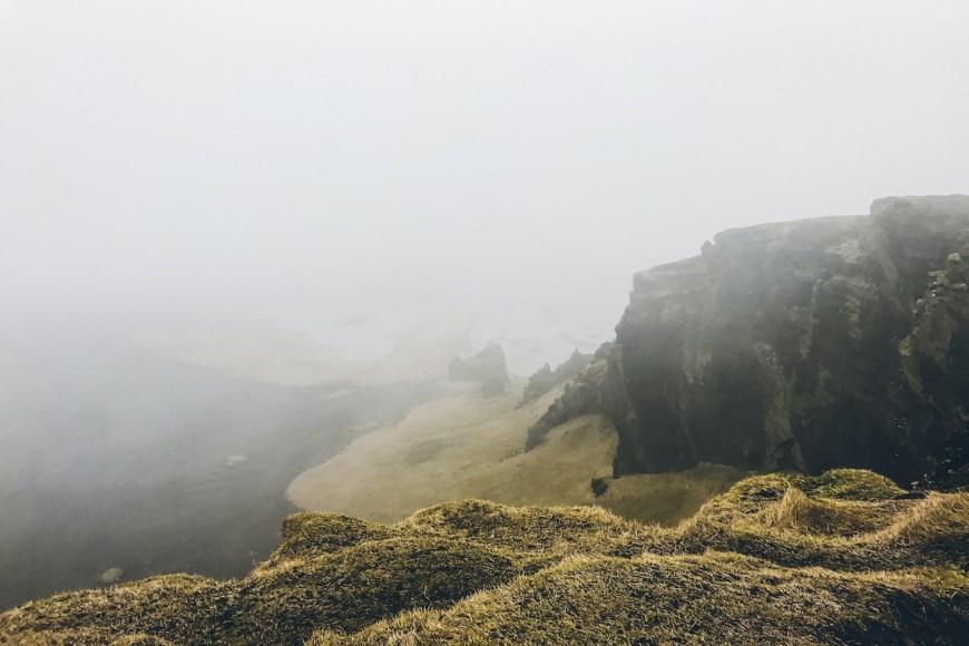 Acantilados sur de Islandia