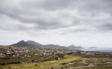 Vista de Porto Santo des del Pico Ana Ferreira