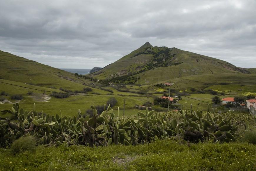 Valle Serra de Fora en Porto Santo, Madeira