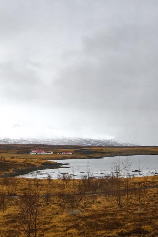 Fiordo del norte de Islandia en Akureyri