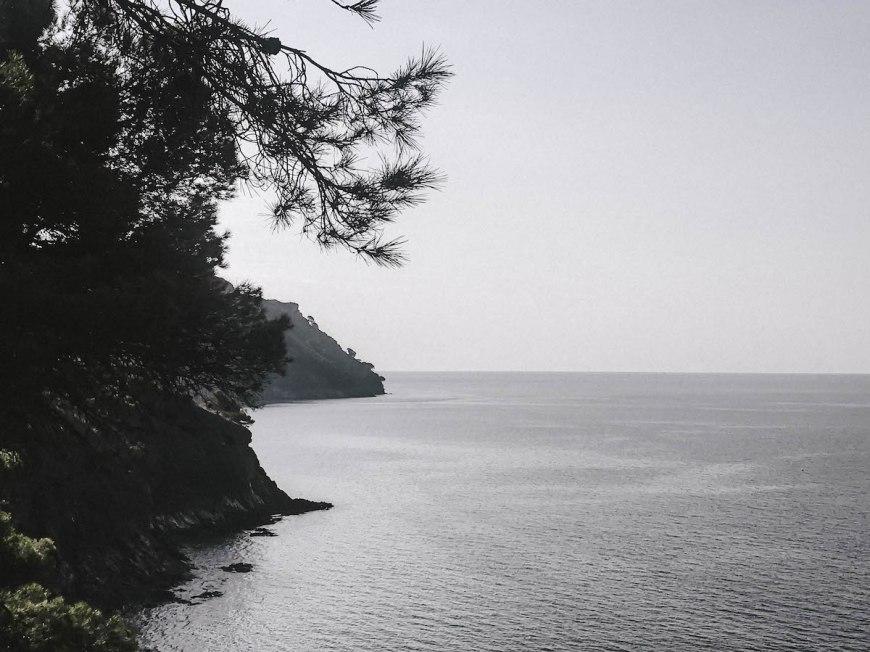 Paisatge del camí de ronda de Montjoi a Cap Norfeu