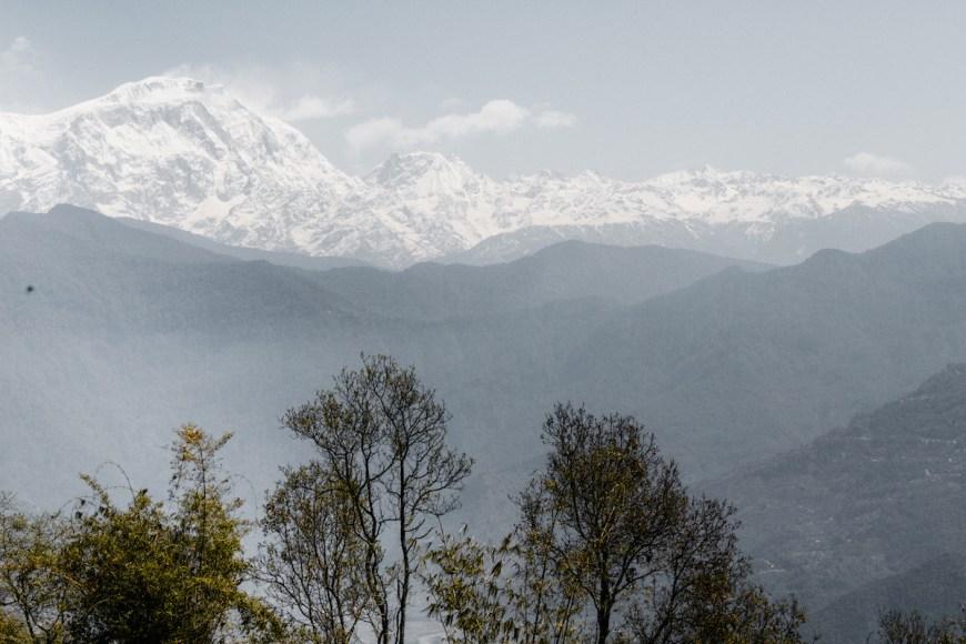 Annapurnas vistos des del Sarangkot.