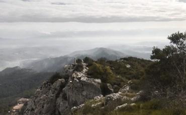 Vistas des de la ermita de Sta. Magdalena de Terrades
