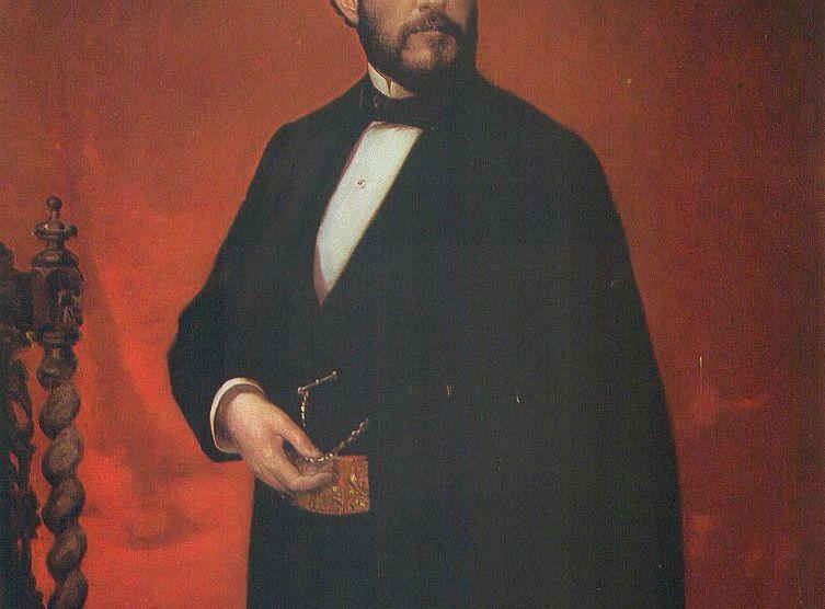 Juan Prim, por Luis de Madrazo