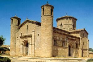 Iglesia de San Martín de Tours, en Frómista