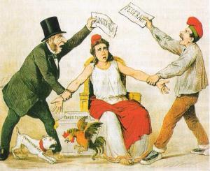 El debate en la España republicana entre centralismo o federalismo