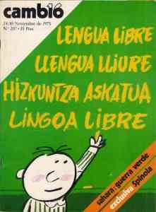 Cambio 16, número 207 (24-30 noviembre de 1975)