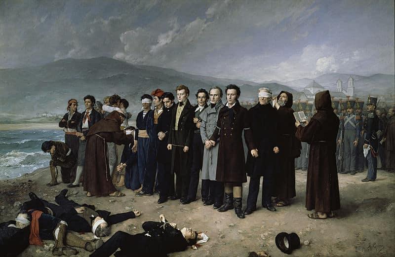 El fusilamiento de Torrijos fue uno de los episodios emblemáticos de la lucha entre el Liberalismo y el Antiguo Régimen en la España decimonónica