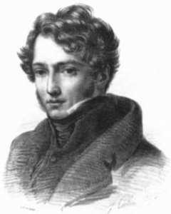 Retrato de Géricault en 1816