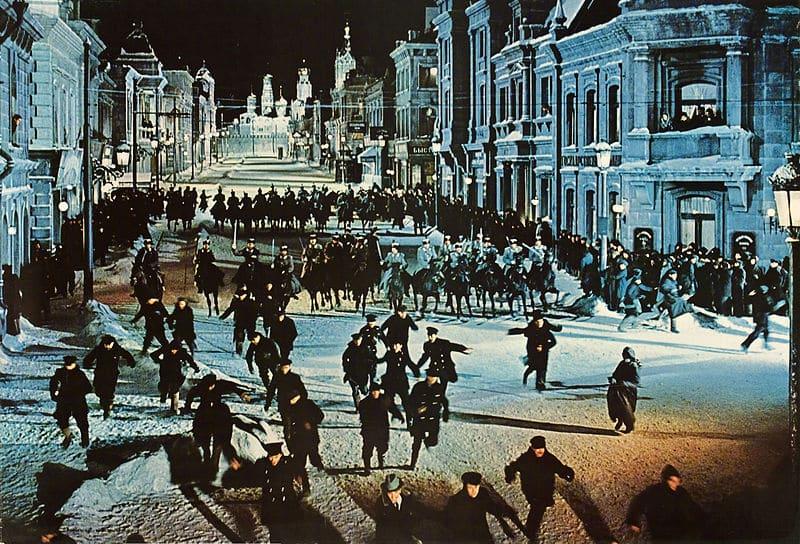 Un improvisado Moscú en las calles de Madrid