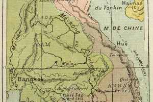Mapa de la Cochinchina (Wikimedia).