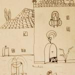 'Paisaje urbano', dibujo de Federico García Lorca