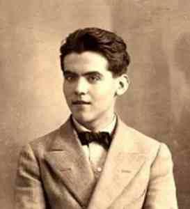 Federico García Lorca en 1914 (Wikimedia).