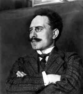 Karl Liebknecht en 1911 (Wikimedia).