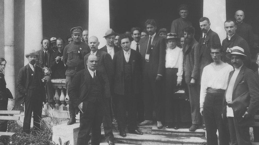 Fotografía del II Congreso de la Komintern | Wikimedia.