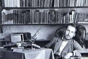 Santiago Ramón y Cajal, en su etapa de estudiante de medicina en Zaragoza (hacia 1876) (Wikimedia).