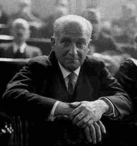 Largo Caballero líder de UGT 1936 (Wikimedia).
