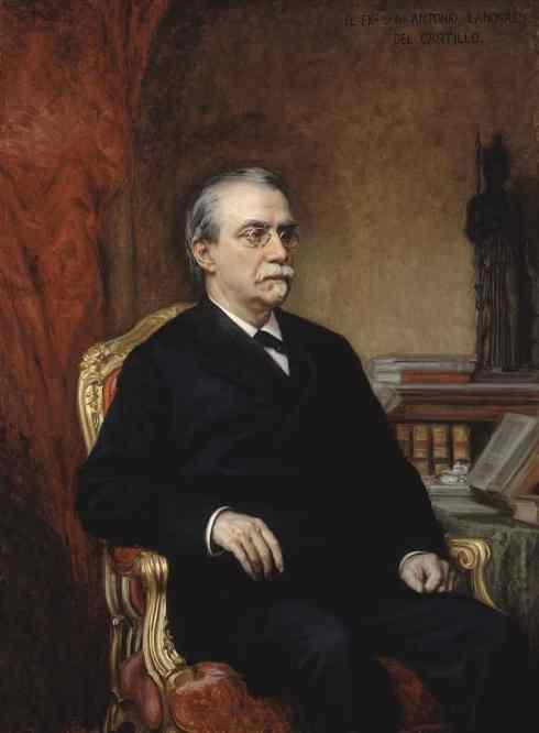 Cánovas del Castillo 1896. Ricardo de Madrazo. Congreso Diputados