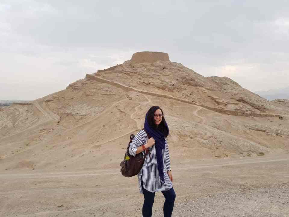 Torre del Silencio, Yazd, Irán. Fotografía de Raúl Aguilar