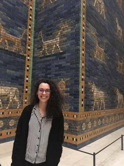 Puerta de Ishtar, Pergamonmuseum, Berlín, Alemania. Fotografía de Philipp Zobel.